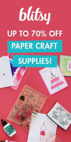 12 best blitsy coupons discounts images on pinterest coupon shop the best paper craft scrapbooking supplies on blitsy at rock bottom prices http fandeluxe Choice Image