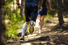 male marathon runner running woods on feet compression socks  __  You can look and buy photo on Adobe: https://ift.tt/2sp1msd  __  #runners #running #sport #trail #uphill #run #marathon #trailrun #trailrunner #trailrunners #trailrunning #trailrunningviews #adobestock #runningman #compressionsocks