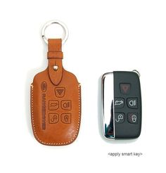 Perfect fit for Land Lover Smart Keys    Description    - Brand : Eccelso  - 100% hand work  - Material : Minerba box leather (Italian Vegetable