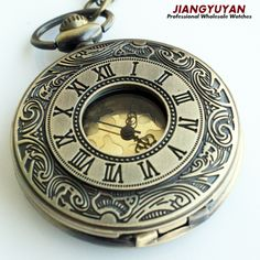 Men Vintage Pocket Watch Retro Antique Watches with Chain Necklace Roman Steampunk Gift for Him Anniversary Weddings Groomsman Collar Steampunk, Steampunk Pocket Watch, Vintage Pocket Watch, Victorian Steampunk, Time Piece Tattoo, Cool Watches, Watches For Men, Pocket Watch Tattoos, Pocket Watch Necklace