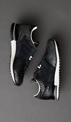 #Adidas Consortium ZX 700. #sneakers #black