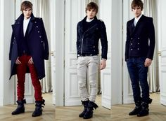 edgy trendy men's clothing glam rock - Google Search