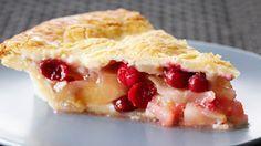 Flourless Pear and Cranberry Pie | Bake With Anna Olson