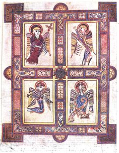 E Book Of Kells ... and Imagery on Pinterest | Book of kells, Celtic goddess and Plates