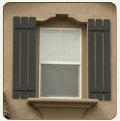 Inexpensive Exterior Window Shutters.Interior: Plantation Blinds ...