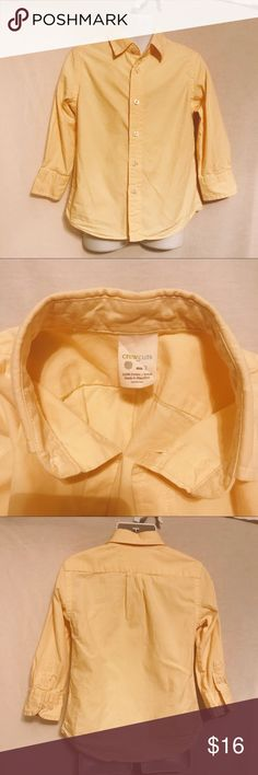 J Crew Crew Cuts boys Secret Wash shirt size 3 Boys dress shirt  from j Crew. Great used condition, no stains etc. From a smoke and pet free home J. Crew Shirts & Tops Button Down Shirts