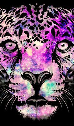 """Leopard"" galaxy wallpaper I created!"