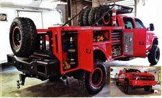 Silverado Chase Truck