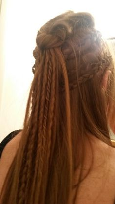 Lagertha inspired hairstyle