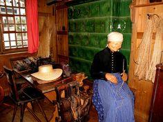 Triberg. hier werden Gegenstände aus Stroh und Schilf gemacht | Flickr - Photo Sharing!