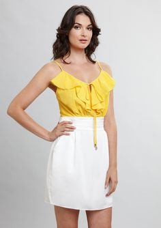 Who says a rehearsal dinner dress has to be white? It can be a great way to wear your wedding colors!