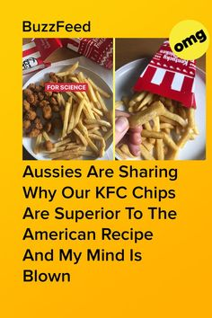 Hands down, the best culinary invention Australia has brought to the table. Aussie Food, American Food, Kfc, Inventions, Chips, Aussies, Recipes, Australia, Hands
