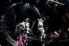 B&E '' Electrofashion Show '' '' The Power of Being an Alien '' avant- garde fashion part. Captured by Rytis Šeškaitis.