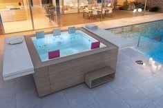 Design Whirlpool / Spa für das moderne Wohnen Zuhause
