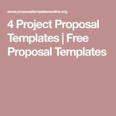 Charity Funds Proposal Template  Free Proposal Templates