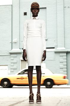 Ajak for Givenchy ...Out and About Africa