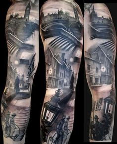 Black and White Tattoo old London
