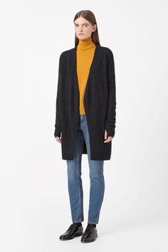 COS   Wool cashmere cardigan