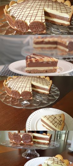 Torta Dueto De Chocolate - Torta Dueto De Chocolate Source by pilotandofogao Cake Recipes, Dessert Recipes, Desserts, Blue Cakes, Sweet Pie, I Foods, Bakery, Food And Drink, Candy