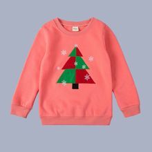 Autumn Hoody Children Sweaters for 2-6Y Baby Boys Christmas Tree Appliques Clothes Cotton Coat Casual Kids Girls Clothing Tops(China (Mainland))
