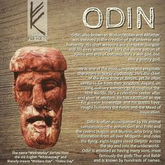It's Wednesday, happy Odin's Day! #odin #wednesday #asatru #fornsed #heathen #heathens #pagan #thor #vikings #viking #norse #religion #gods #god #mythology #mittwoch #roots #wotan #wodan