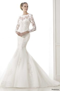 Pronovias 2015 Pre-Collection Wedding Dresses — Glamour Bridal Collection | Wedding Inspirasi