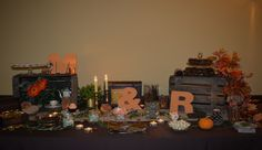 Candy bar otoñal, fall sweet corner   Photo and Wedding Planner: Berezi Moments   Wedding Planner Bilbao, Basque Country, Cantabria