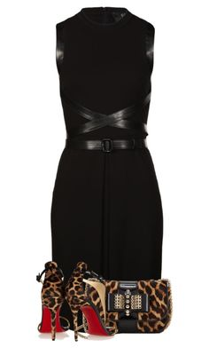 """Untitled #379"" by fashion-766 ❤ liked on Polyvore featuring Gucci and Christian Louboutin"