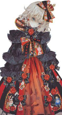IKADA blog Anime Girl Dress, Anime Girl Cute, Manga Girl, Anime Art Girl, Female Character Design, Character Design Inspiration, Character Art, Pretty Art, Cute Art