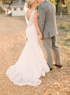 Back. Liancarlo.   Read more - http://www.stylemepretty.com/2014/01/07/rustic-chic-napa-valley-wedding-at-long-meadow-ranch/