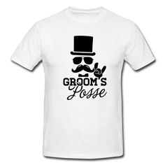 Groom T-Shirts. Use heat transfer materials and a heat press to personalize shirts for his posse. Bachelor Party Shirts, Bachelor Parties, Geek Party, Groom Shirts, Marrying My Best Friend, Personalized Shirts, Groom And Groomsmen, Wedding Groom, Heat Transfer