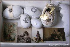 Beautiful easter compositions for decoration of an interior by a holiday - Красивые пасхальные композиции для украшения интерьера к празднику