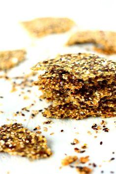 Kotitekoinen gluteeniton näkkileipä maistuu kaikille Bun Recipe, Fodmap, Love Food, Vegetarian Recipes, Cereal, Food And Drink, Gluten Free, Keto, Tasty