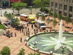 Courthouse Square, Downtown Dayton Ohio @Downtown Dayton