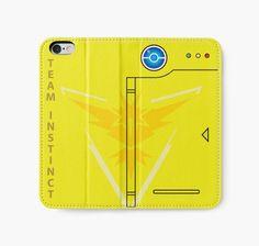 Team instinct phone case pokemon go