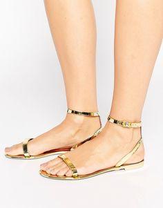 2cff5bb7f1a74c ASOS Feline Jelly Flat Sandals Jelly Flip Flops