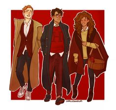 Fan Art Harry Potter - The Golden Trio - Page 3 - Wattpad Fanart Harry Potter, Harry Potter Drawings, Harry Potter Books, Harry Potter Universal, Harry Potter World, Albus Dumbledore, Hogwarts, Slytherin, Golden Trio