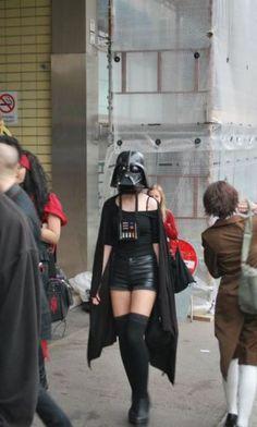 Vader chick!!!! #starwars