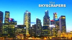 Top 10 Cities With Most Skyscrapers 2017 | Cities With Most Skyscrapers 2017
