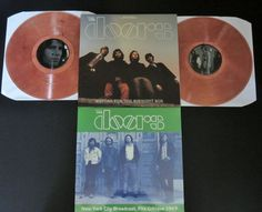 Online veilinghuis Catawiki: The Doors - Waiting For The Midnight Sun (Live Stockholm 1968) & New York City Broadcast 1969: 2 albums (3LP's): 1 on smokey clear vinyl + 1x limited edition