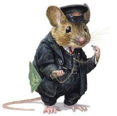 The online home for artwork by Christopher Dunn Maus Illustration, Fantasy Illustration, Illustrations, Chris Dunn, Art Calendar, Rabbit Art, Cute Mouse, Watercolor Animals, Animal Paintings
