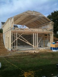 28 Or 26u0027 Attic/storage Truss, How Much Room For Storage???(PICS)   The  Garage Journal Board | Barn At The Branch | Pinterest | Attic Storage, Attic  And ...