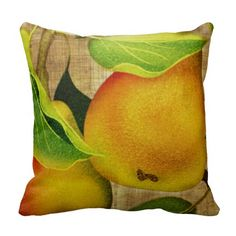 #Beautiful!! Just #Pears Throw #Pillow