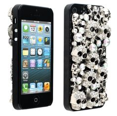 Skull Glow Crystal Case for iPhone 5