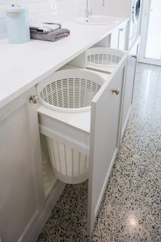Laundry Design And Manufacture | Renovations | Character Cabinets #renovationideasdiy