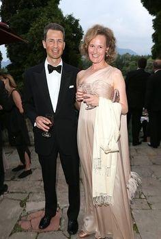 Alois, Hereditary Prince of Liechtenstein and his wife Sophie, Hereditary Princess of Liechtenstein in Salzburg, Austria