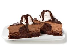 Almost-Famous Chocolate Mousse Cake from #FNMag