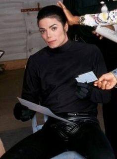 Rare MJ pic