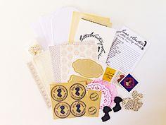 #janeausten Mini Kit contents!  #snailmail #penpals