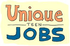 8 unique (and fun!) summer jobs for teens
